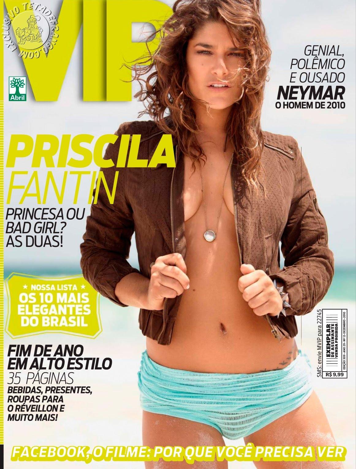 Download Priscila Fantin Revista VIP Dezembro 2010