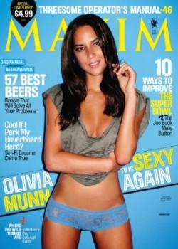 Download Maxim Olivia Munn Fevereiro 2011