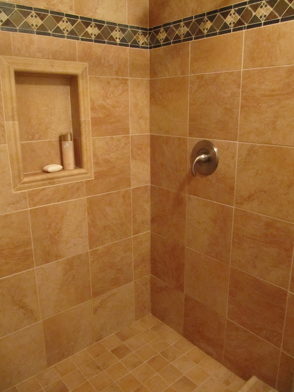 Small Shower Remodel - remove old shower enclosure and build new  title=
