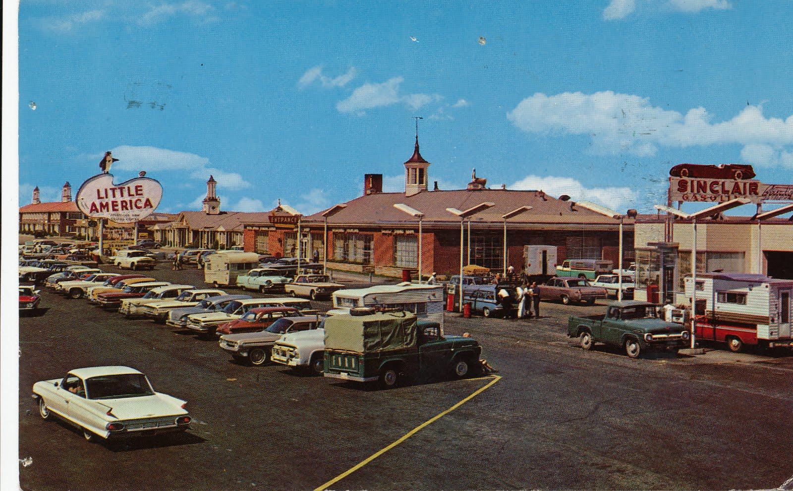Who Knew That Giant Paved Parking Areas Could Be Considered An Attraction In Any Case Little America Is Still There And You Can Stop By For A Visit