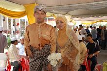 Gambar Kahwin Abah & Mama