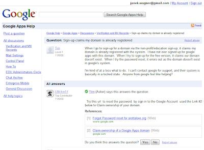 Nová fóra v Nápovědě Google