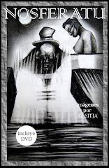 """CARPETA """"NOSFERATU"""" CON 12 IMAGENES Y UN DVD"""