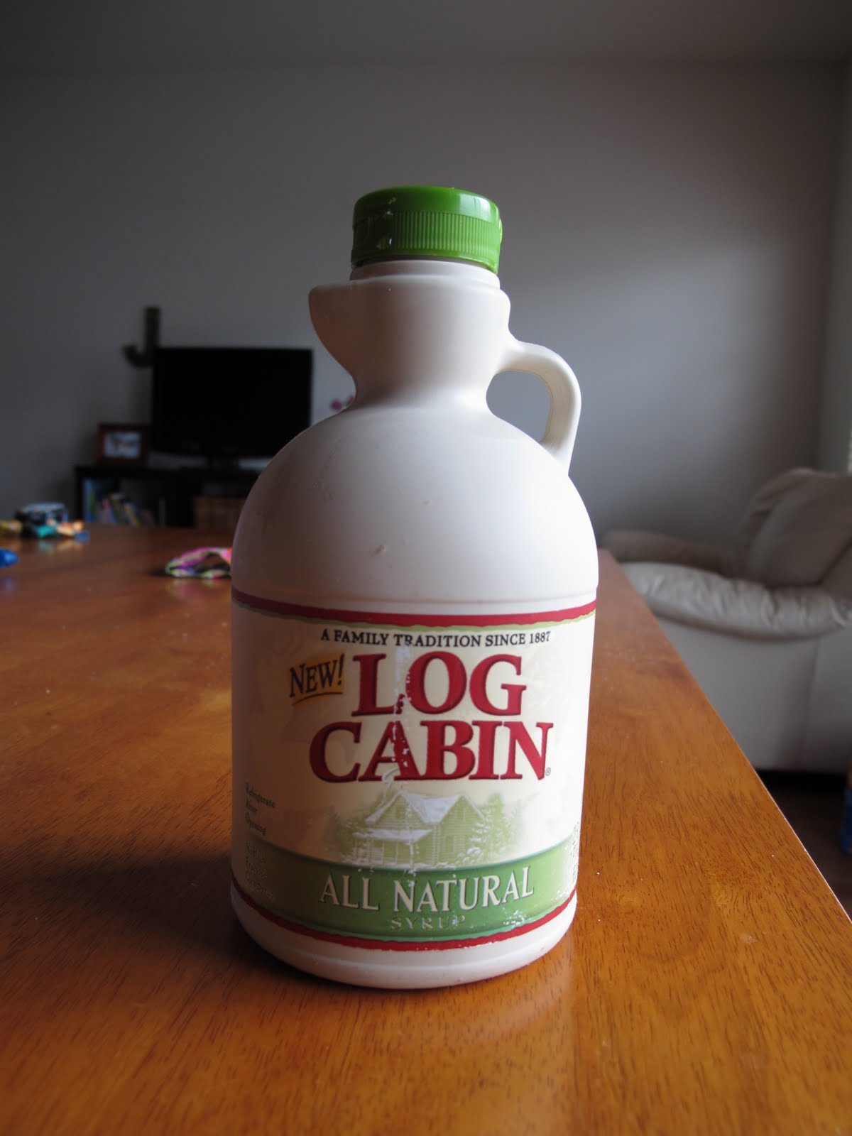New Log Cabin All Natural Pancake Syrup Review