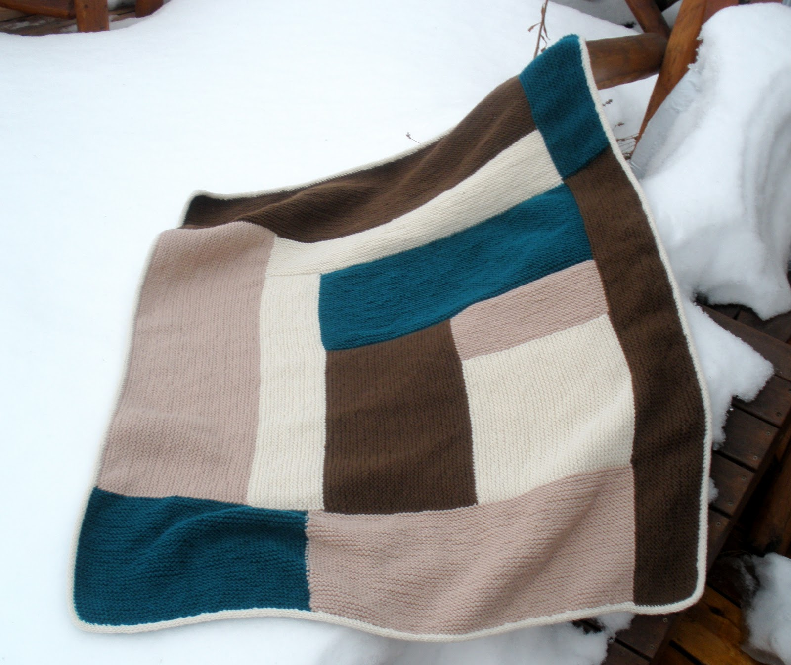 Knitting Blankets For Charity : Emptyknitster s never ending knitting charity blanket