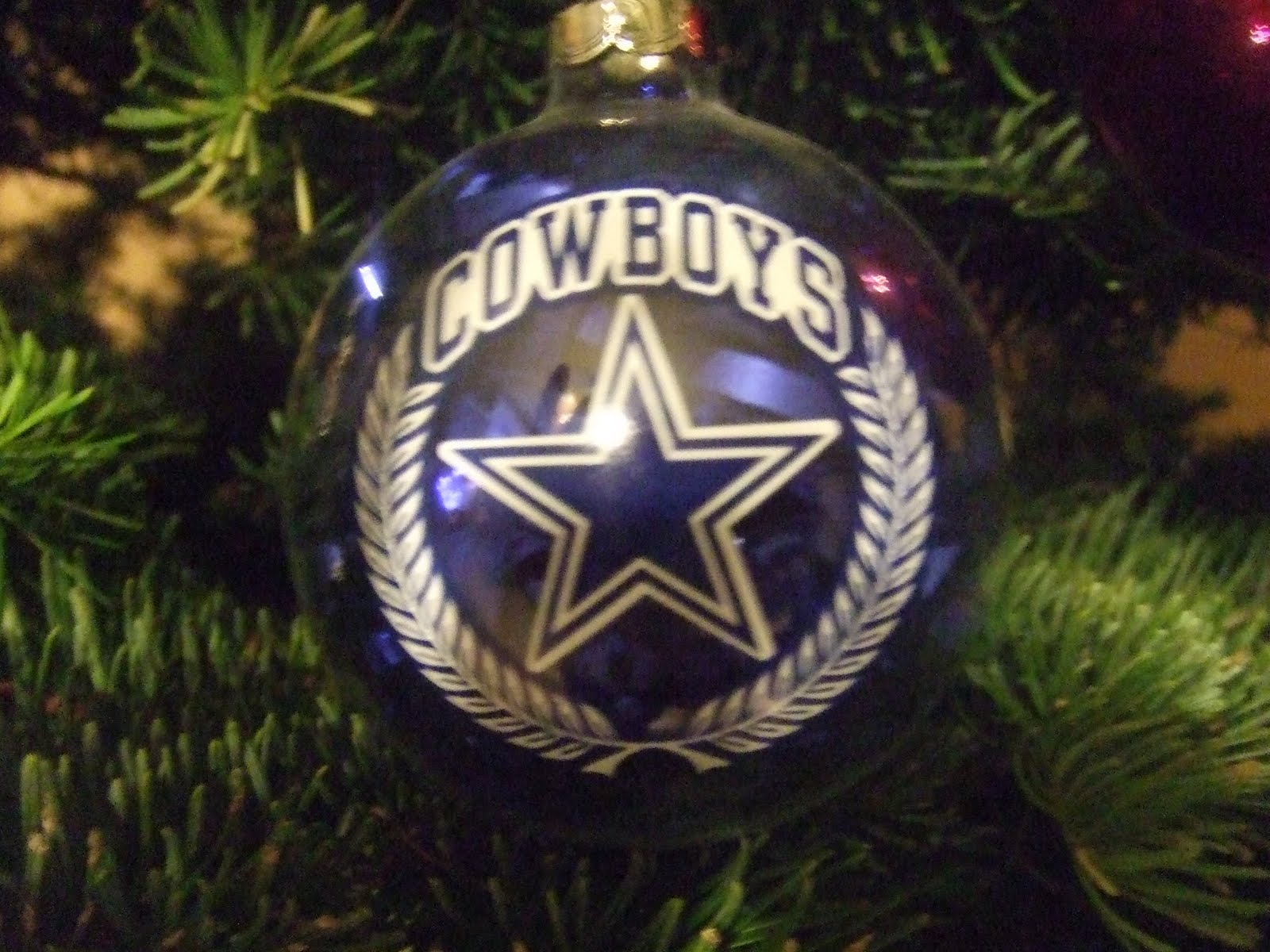 Paw Print Diaries: Our Christmas Tree - Dallas Cowboys