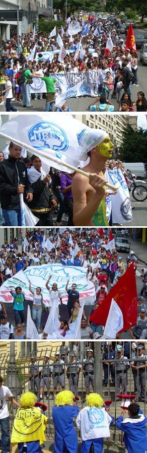 Fotos manifestação em Sampa
