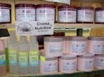 Variedad en cremas con aceites naturales