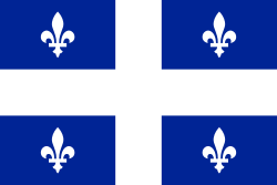 The new Quebec flag debuted 17