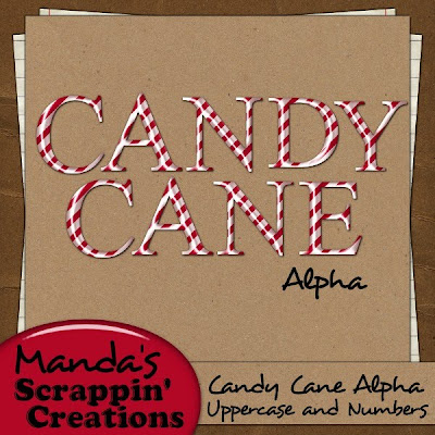 http://scrappingwords.blogspot.com/2009/12/candy-cane-alpha.html