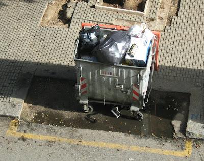 cagliari garbage