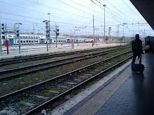 Binario vivo (Roma Termini)
