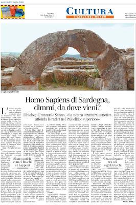 Homo Sapiens di Sardegna