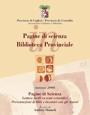 Pagine di Scienza. Biblioteca Provinciale Cagliari