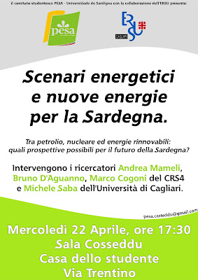 energia sardegna 22 aprile 2009