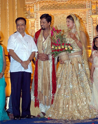 Ramba marriage reception stills / photos