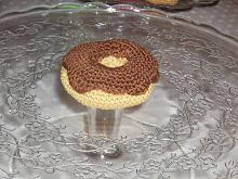 Donut med chokladglasyr