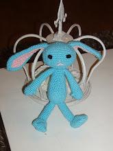 Blå kanin