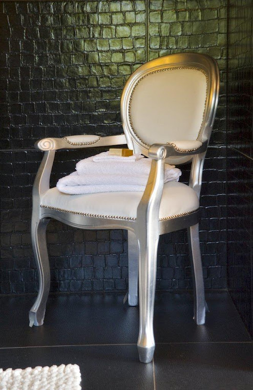 Leather Bathroom chair