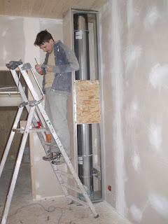 Une maison en bois en savoie isolation du sol - Joint acrylique a peindre ...