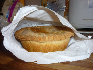 Potts Pies Meat and Potato Pie