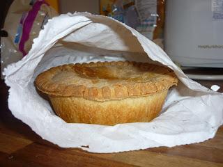 Potts Pies Meat and Potato Pie