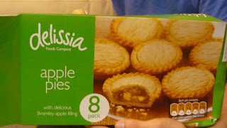 delissia poundland apple pie