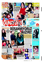 Cover of Sabah's Gunaydin with Tarkan Harbiye report