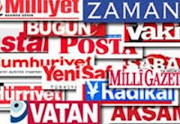 The Turkish newspapers
