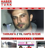Haberturk has run the news on its front page