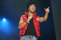 Tarkan on stage at the Arena Berlin, December 2008