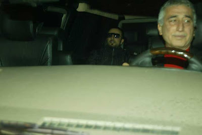 Tarkan coming out of the TRT studios