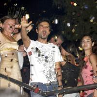 Tarkan at Club Kemer Aura after his Antalya show