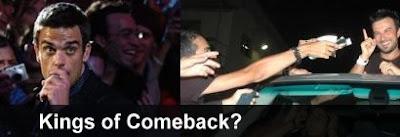 Robbie Williams and Tarkan; Kings of comeback?