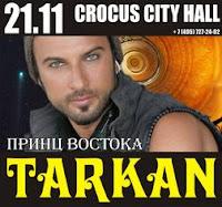 Tarkan in Moscow 2009