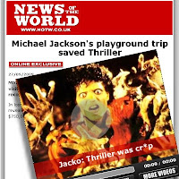 News of the World Michael Jackson Exclusive