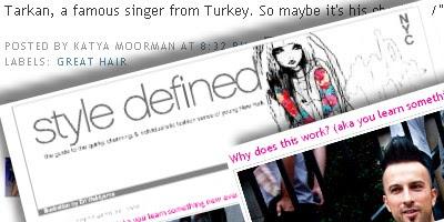 NYC style blog talks Tarkan
