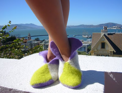 Crochet Felted Slipper Pattern | Free Patterns For Crochet