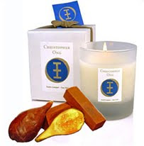 Christopher Ong Perfumed Candle:Patchouli-Fig