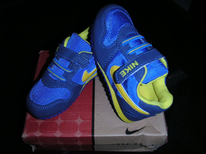 NIKE BLUE & YELLOW 2107