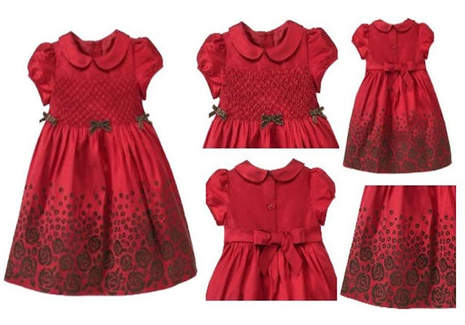 GYMBOREE ROYAL SMOKING DRESS..