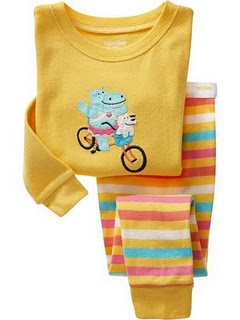 GAP PYJAMAS BLUE HYPPO