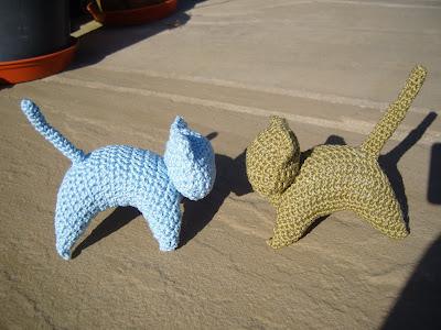 Free Pattern Crochet Kitten : MarmaladeRose: Crochet Kitten Pattern