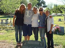 Annual visit to dad's gravesite