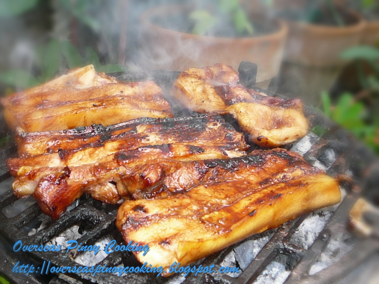 Grilled Pork Belly Filipino Recipe