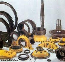 berbagai komponen alat berat