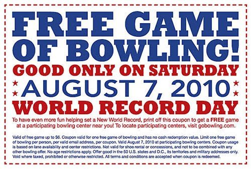 Amf bowling party coupons