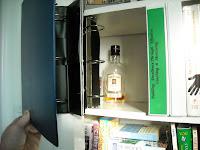 DIY secret bookshelf compartment