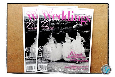 Featured in Real Weddings Magazine 1