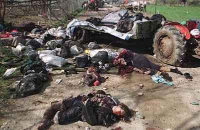 Βομβαρδισμένοι Σέρβοι.....  τρομοκράτες στο Κόσοβο